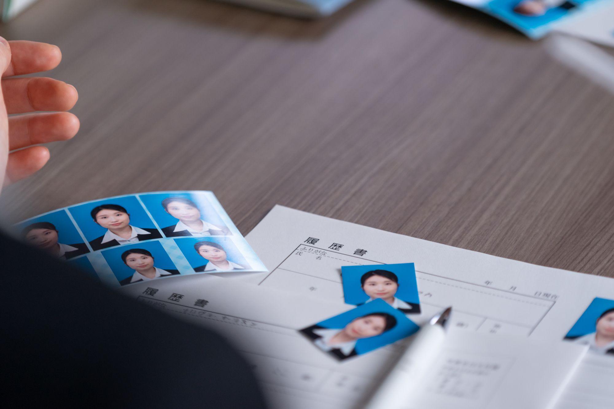 履歴書の写真は写真スタジオで撮ったほうがいい?
